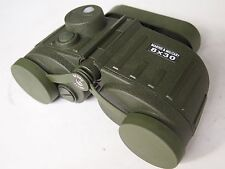 Militär Marine Fernglas 8x30 mit beleuchtetem Kompass + Strichplatte binoculars
