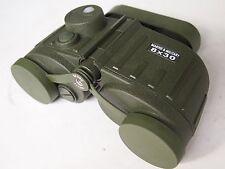 Marina MILITARE Binocolo 8x30 con display Bussola + tratto PIASTRA Binoculars