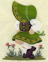 ST PATRICKS HIS AND HERS SET OF 2 BATH HAND TOWELS EMBROIDERED BY LAURA