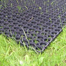 20 X Resistente Goma Hierba Alfombra 1.5m X 1m Parque Infantil Jardín Seguridad