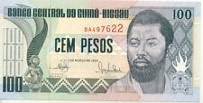 GUINEE BISSAU GUINEA 100 PESOS 1990 UNC NEUF