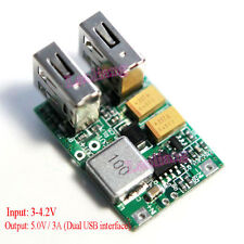 DC 5V 3A Dual USB Output Step-up Boost Power Supply Module Für Mobile Power DIY