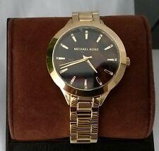Michael Kors MK3535 Women's Parker Bracelet Watch Quartz Movement Gold/Tort NWT