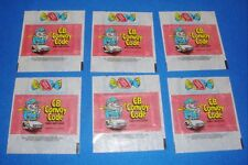 1978  Donruss CB Convoy Code  Lot of 6 Wrappers