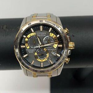 Citizen Eco Drive Sapphire Radio Controlled Men's Watch Model E650-S075157