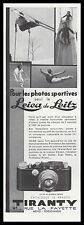 PUBLICITE  LEICA DE LEITZ  PHOTO APPAREIL PHOTO    AD  1934 -1Hb