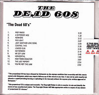 THE DEAD 60S The Dead 60s UK 13-tk numbered/watermarked promo test CD sealed