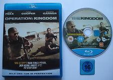 OPERATION : KINGDOM  __  JAMIE FOXX + C. COOPER + J. GARNER   __  Blu RayFSK 16