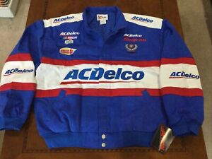 1999 Vintage NASCAR Dale Earnhardt Jr. AC DELCO JACKET XL  MINT new w/tag Chase