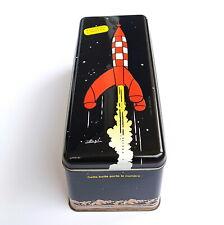 Caja Metal Tintin Delacre 2008 Cohete Tintin Edition Limitada 24CM X 10CM