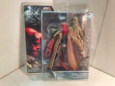 """Mezco - Hellboy - 2004 """"Hellboy"""" Open-Mouthed and Trenchcoat Variant - RARE!"""