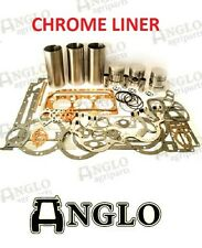 Massey Ferguson 35 35X 135 Tractor CHROME LINER Engine Kit Perkins 3 Cyl. A3.152