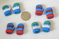 Winter Warmth / Mitten Shape Shank Back Buttons / Buttons Galore Holiday Collec