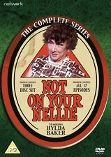 NOT ON YOUR NELLIE the complete series 1, 2 & 3. Hylda Baker. 3 discs New sealed