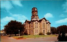 1950'S. COURT HOUSE. GRANBURY, TX. POSTCARD. TW2