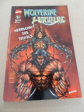 1x Bande dessinée-wolverine witchblade-règne du diable (2)