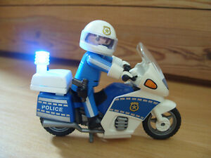 Playmobil 100% Complete Set 4262 Police Motorbike
