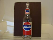Vintage Longneck Pepsi Bottle Empty Collectible Soda Pop Glass FREE SHIPPING