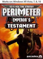 Perimeter: Emperor's Testament PC Video Game