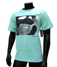 Diamond supply co. Dmdn Kush mens Teal skateboard t shirt size Small