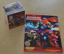 PANINI DISNEY Baymax Sticker * 1 display 35 cartocci + ALBUM VUOTO album * NUOVO