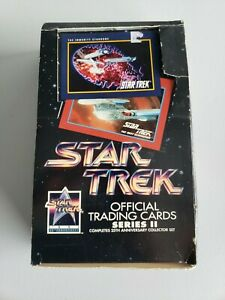 Star Trek Official Trading Cards Series 2 25th Anniversary Collector Set