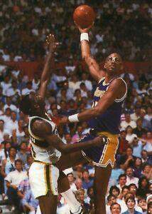 Kareem Abdul-Jabbar--Los Angeles Lakers--Glossy 5x7 Color Photo
