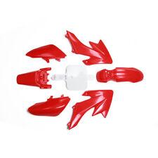Red Plastics Fender Kit Side Cover Fairing For Honda SDG SSR XR50 CRF50 Pit Bike
