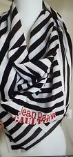 """Jean Paul Gaultier Parfums Limited Collectors """"Pirate"""" Scarf navy white large"""