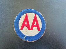Patch US Anti Aircraft Command 39-45 Original WW2 .corée