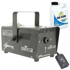 Chauvet H-700 Hurricane 700 Fog Smoke Haze Effect Machine Includes Fluid Remote