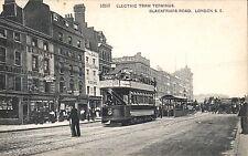 Southwark. Electric Tram Terminus, Blackfriars Road # 16197.