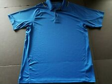Mizuno Royal Blue Polo Short Sleeve Shirt Size Large LG