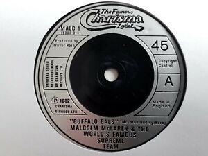 """Malcolm Mclaren - Buffalo Gals - 7"""" Vinyl Single"""
