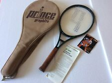 Prince Graphite Series 110 Tennis Racket Case And Instruction Book Perfect Condi
