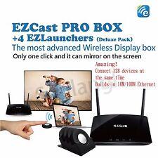 EZCast PRO BOX + 4 EZLauners deluxe pack wireless display box Click&Mirror