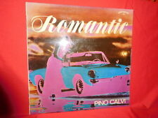 PINO CALVI Romantic LP 1966 Italy EX+ JAZZ OST The Beatles