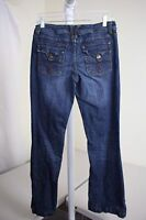 American Rag Cie Cotton Blend Stonewashed Boot Cut Junior's Jeans Size - 5