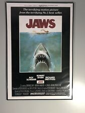 1975 Jaws Movie Poster 27� X 41�