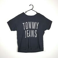 Womens Tommy Jeans Crop Style Tshirt Top Size M Medium