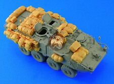 Legend 1/72 Stryker Infantry Carrier Vehicle Stowage and Accessories Set LF7208