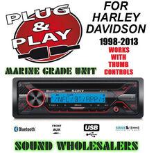 PLUG & PLAY FOR HARLEY DAVIDSON MARINE IPOD-IPHONE USB RADIO STEREO ADAPTER KIT