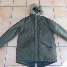 Old Navy XL Heavy Winter Hooded Parka Olive Green Men's Clothing