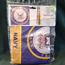 """Us Navy. windsock 40"""" New in package"""