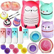 Make Up Games For Girls Kids Kit Toys Pretend Play Cosmetics Set Preschooler New