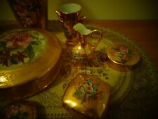 STUNNING COLLECTABLE ASSORTMENT GOLD PORCELIAN LIMOGES[LOOKS BRANDNEW]