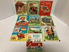 Lot of 10 Vintage Sunny Book Samuel Lowe PB Children's Books 70's - 80s'