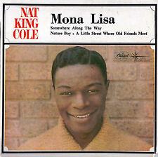 NAT KING COLE Mona Lisa EP