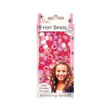 Mia Girl Hair Beads, Hair Accessory Kit w Threader, for Kids, Jewelry 200pcs