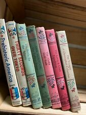 Landmark series children's books 7 FAIR TO GOOD FREE SHIPPING